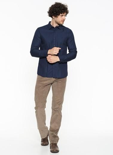 Mavi Uzun Kollu Gömlek Lacivert